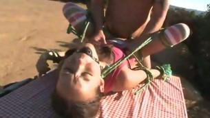 tenåring babe fetish bondage