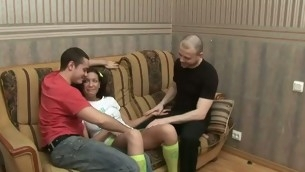 Hunk gets playgirl examined in advance of hardcore fucking