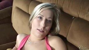 Carla not at one's fingertips any time had dick in mouth and is afraid 'coz that babe thinks that is to filthy to smack it. But her ally Caroline shares her paramour dick wide Carla in pretence to give her the first blow job